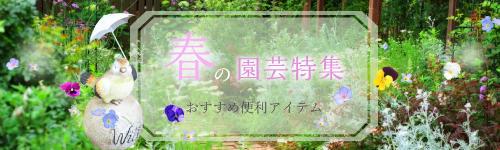 春の園芸特集
